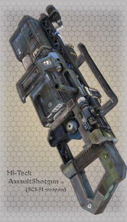 Hi-Teck AssaultShotgun 14