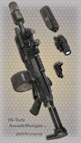 Hi-Teck AssaultShotgun 15