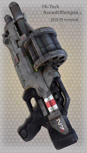 Hi-Teck AssaultShotgun 16