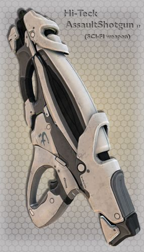Hi-Teck AssaultShotgun 17