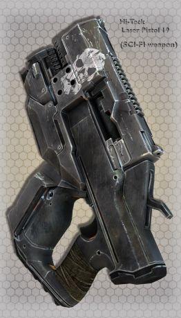 Hi-Teck Laser Pistol 19