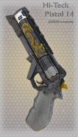 Hi-Teck Pistol 14