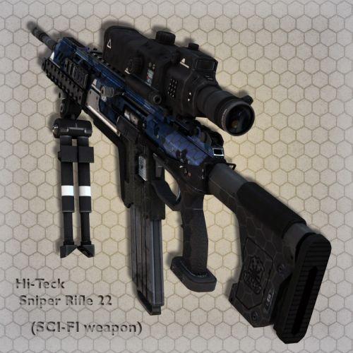 Hi-Teck Sniper Rifle 22
