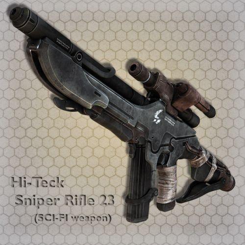 Hi-Teck Sniper Rifle 23