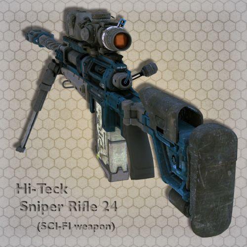Hi-Teck Sniper Rifle 24