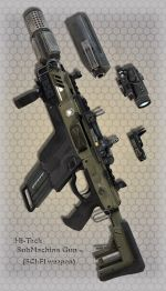 Hi-Teck SubMachine Gun 20