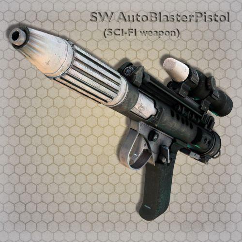 SW AutoBlasterPistol