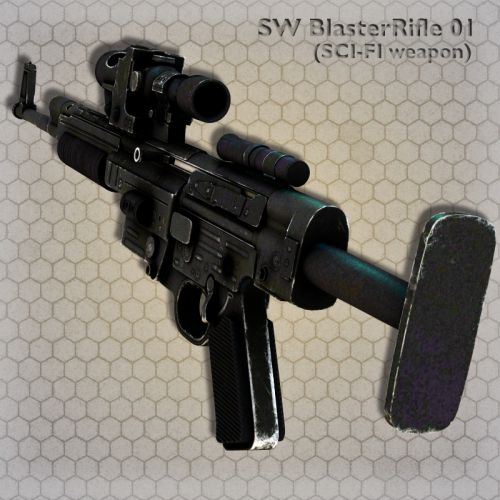 SW BlasterRifle 01