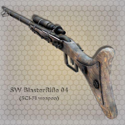 SW BlasterRifle 04