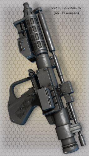 SW BlasterRifle 07