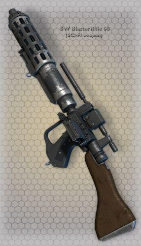 SW BlasterRifle 08