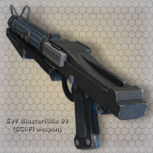 SW BlasterRifle 09