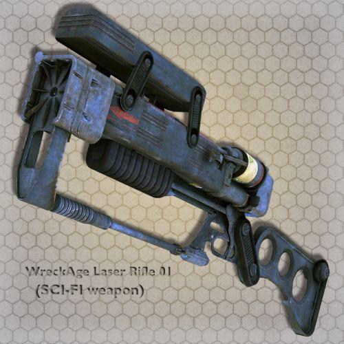 WreckAge Laser Rifle 01