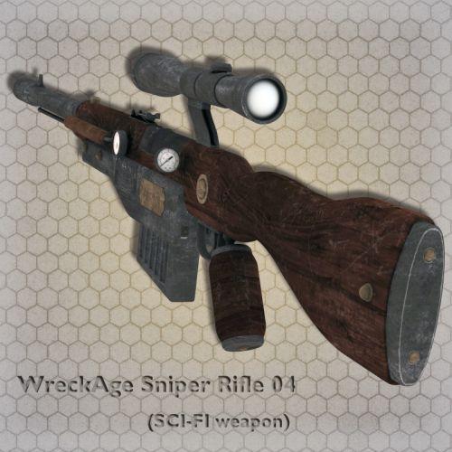 WreckAge Sniper Rifle 04