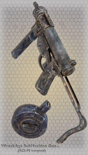WreckAge SubMachine Gun 02