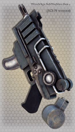 WreckAge SubMachine Gun 03