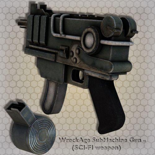 WreckAge SubMachine Gun 03