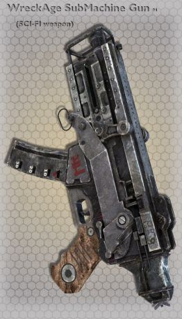 WreckAge SubMachine Gun 04