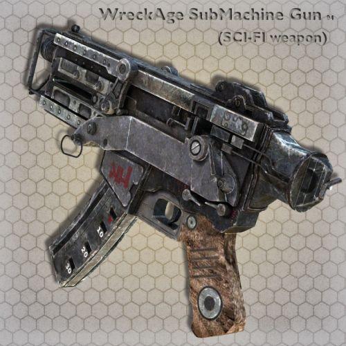 WreckAge SubMachine Gun 04